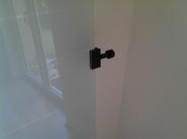 Endanschlag Schiebetür,  Stopper Tür, Seisenberger Glas Schiebetürsystem